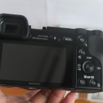 Sony A6000 Lensa 16-50mm OSS Black SC Minim Mulus