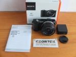Sony A5000 Lensa 16-50mm OSS Black SC 1.xxx Istimewa