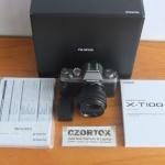 Fujifilm XT100Lensa 15-45Like New