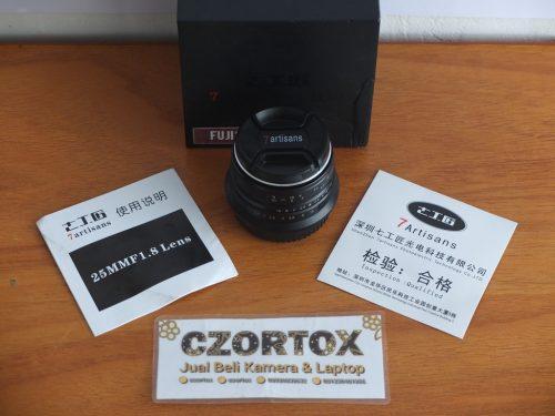 Lensa Fujifilm 7artisan 25mm f1.8 for Fuji