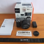 Sony A6000 Lensa 16-50mm OSS Silver Like New Sc 1.Xxx