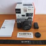 Sony A6000 Lensa 16-50mm OSS Silver Like New Sc 1.Xxx
