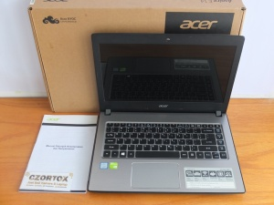 Acer E5-476G Core i5 8520U Nvidia MX130 2gb