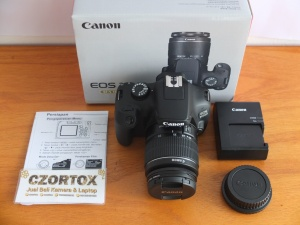 Canon 3000D EF-S Kit 18-55 mm III Like New