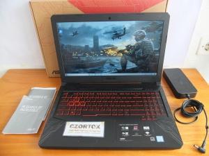 Asus Gaming TUF FX504GE NVMe 128 GB + HDD 1 TB 1050 TI