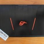 Asus ROG GL553VD Intel Core i7 7700HQ Dual VGA Istimewa