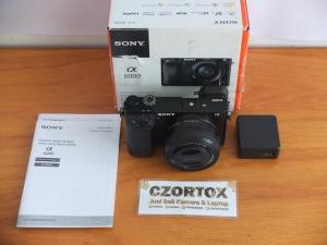 Sony A6000 Lensa 16-50mm OSS