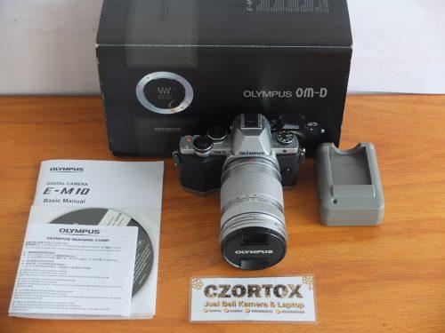 Olympus OM-D EM10 Mark 1 Lensa Tele Sc Minim