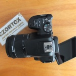 Canon 200D Mark II Kit 18-55mm IS STM Black Istimewa Garansi Panjang