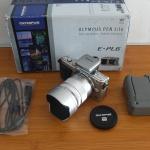 Olympus E-PL6 Lensa Tele Lumix 35-100 mm Istimewa