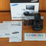 Samsung NX3000 Lensa kit 16-50mm Wifi