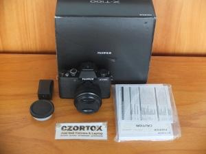 Fujifilm XT100 Lensa 15-45 EX Garansi Resmi Mulus