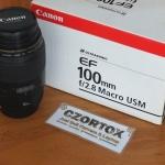 Lensa Canon EF 100mm 2.8 Macro USM