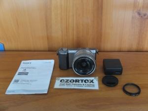 Sony A5100 Lensa 16-50mm OSS Grey Sc 2.xxx