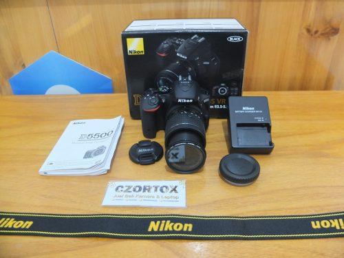 Nikon D5500 AF-P 18-55mm VR Kit Sc 1.Xxx Like New