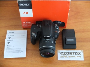Sony A390 Double Lens 18-55mm Dan 50mm SAM