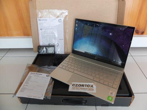 Hp Envy 13 Ci7-10510U MX250 NVMe 512gb Garansi Panjang