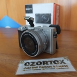 Sony A6000 Lensa 16-50mm OSS Silver Sc 3.Xxx