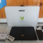 MSI WE65 WORKSTATION NVDIA Quadro T1000 Ram 32GB SSD 512GB HDD 1TB Garansi Panjang