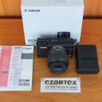Canon M100 Kit 15-45mm Flip Screen Mulus