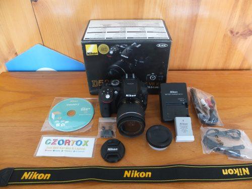 Nikon D5300 Kit AF-P 18-55mm Wi-Fi SC Rendah Like New