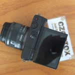 Canon M10 Lensa 15-45mm Mulus