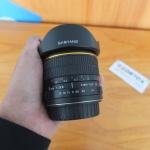 Lensa Samyang Fish Eye 8mm F3.6 CS For Canon