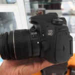 Canon 60D Lensa 18-55mm Mulus
