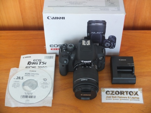 Canon 700D Kit 18-55mm IS STM SC 6.Xxx