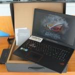 Asus ROG GL553VD Intel Core i7 7700HQ Dual Storage Ram 16 gb  SSD 128gb