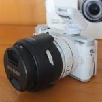 Samsung NX300 Lensa kit 18-55mm Wifi