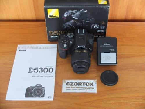 Nikon D5300 Kit AF-P 18-55mm VR II Wi-Fi SC 13.Xxx