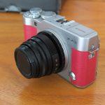 Fujifilm X-A3 lensa 35mm f1.6 Pink