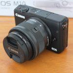 Canon M10 Lensa 15-45mm Like New