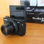 Canon G7X Mark II Flip Touchscreen