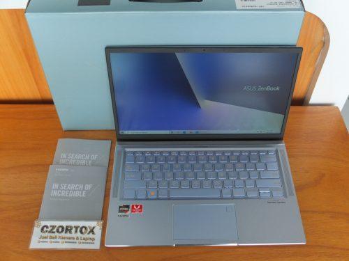 Asus Zenbook UX431D Ryzen 5 3500U Ram 8gb NVMe 512gb Garansi Panjang