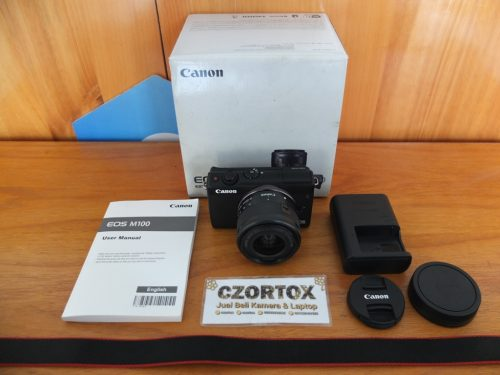 Canon M100 Kit 15-45mm Flip Screen WIFI