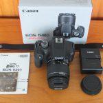 Canon 1500D Lensa 18-55mm Like New