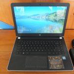 Hp 14-BS503TX Ci3-6006U Ram 4gb HDD 1tb