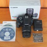 Canon 1200D Lensa Kit 18-55mm Mulus