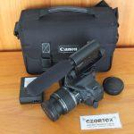 Canon 600D Lensa EF-S 18-55 Plus Mic Takstar Sc Rendah