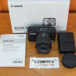 Canon M10 Lensa 15-45mm Flip Mulus WIFI Touchscreen