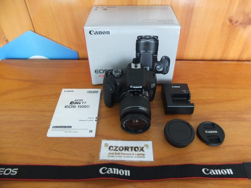 Canon Eos 1500D Kit 18-55mm Like New Umur 3 Bulan