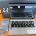 Asus X441M Intel Celeron N4000 Ram 4gb HDD 1tb GARANSI