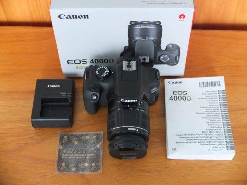 Canon 4000D Lensa Kit 18-55mm