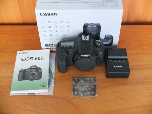 Canon 60D Body Only SC 5.xxx Like New