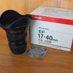 Lensa EF 17-40mm f/4L USM For Canon