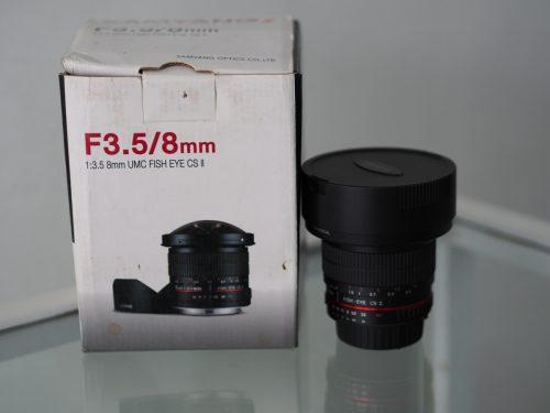 Lensa Samyang 8mm F3.5 CS II For Nikon