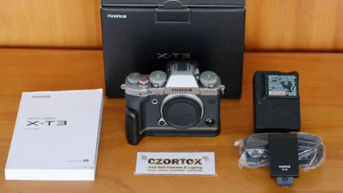 Fujifilm XT3 Body Only Garansi Sampai Juli 2021 Like New
