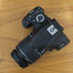 Canon 600D Lensa EF-S 18-55 Sc 15.xxx
